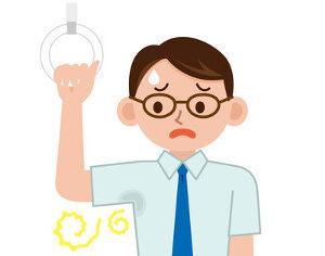 ワイシャツの「汗染み」~インナー付シャツで防止できる!?